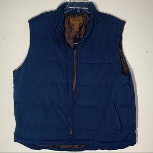 NWT St John's Bay Navy Puffer Vest